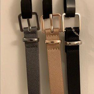 Torrid 3 pack belts size 14-16